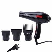 Kemei 3000W Electric Hair Dryer Low Noise Powerful GW3900 Blower AC Motor 220V EU Plug