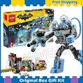 201 unids Nuevo Super Heroes Batman 07049 Mr. Freeze Hielo Ataque diy kit de construcción modelo bloques regalos movie juguetes compatible con lego