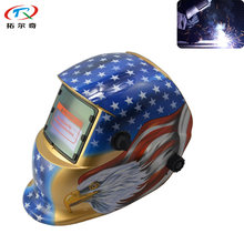 Blue Twinkle Star Design Welding Helmet Automatic Darkening DIN9-13 Adjustable PP Material Tig Mig Arc Filter TRQ-HD64-2200DE(China)