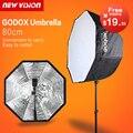 Godox Фотостудия 80 см/31.5in Портативный Octagon Вспышка вспышка Speedlite Зонт Softbox Софтбокс Бролли Отражатель