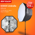 Godox Photo Studio 80cm/31.5in Portable Octagon Flash Speedlight Speedlite Umbrella Softbox Soft Box Brolly Reflector