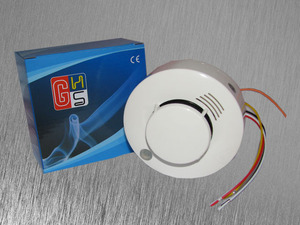 Image 3 - Sgooway 2 pieces Photoelectric Wired Smoke Detector Sensor Wired smoke alarm Security Fire alarm detector