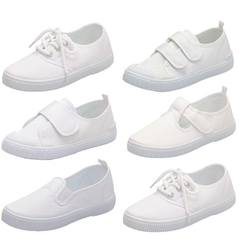 excellent.c Kids Shoes Canvas Shoes Boys Girls Walking Shoes Flat Shoes Sneakers