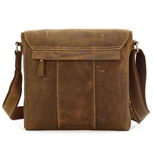 Korting JMD Fashion Crazy Horse Lederen Mannen Messenger Bags - Handtassen - Foto 3