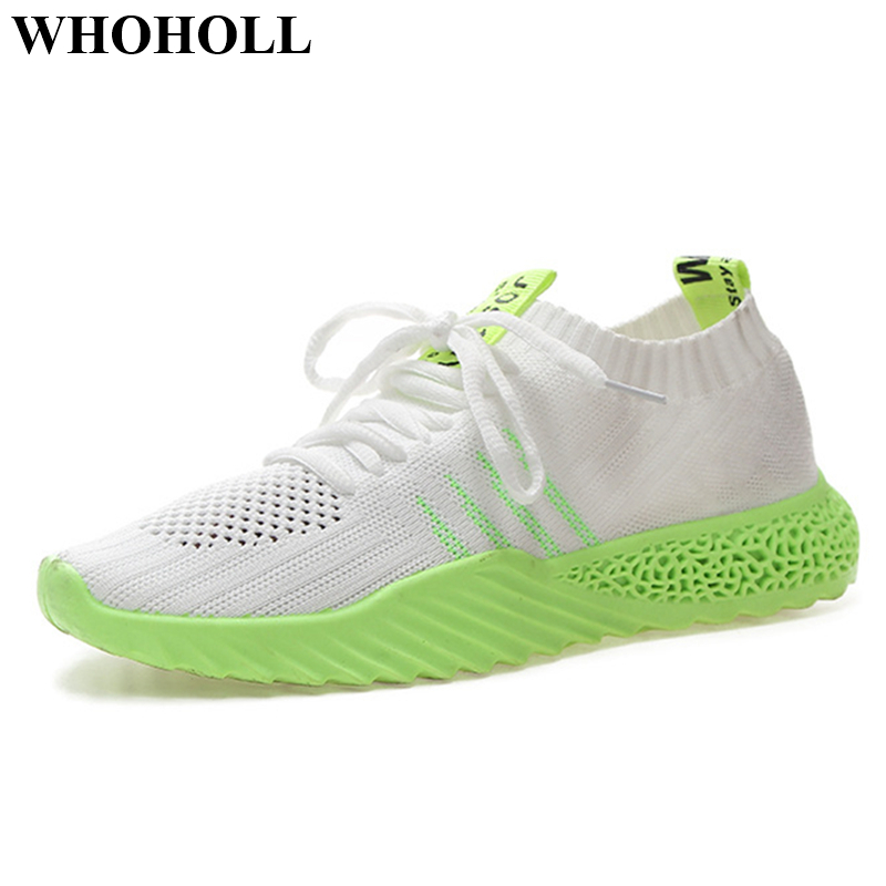 New Women Sneakers Flat Shoes Platform Breathable Mesh Lace up Adult Female Tenis Footwear Stylish Design Soft Anti skid Light