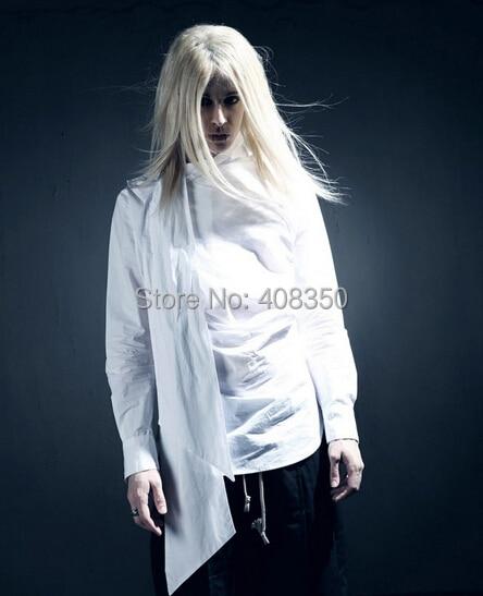 Vintage Tuxedo Dress Shirts Mens Fashion Bowknot Long Sleeve Designer Brand White Black Shirt Chemise Homme 2015 New  (2).jpg