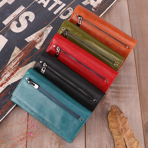 Image 3 - JOYIR Genuine Leather Women Wallet Multifunction RFID Wallets Brand Purses Carteira Fashion Female Card Holder Wallet Phone Bag