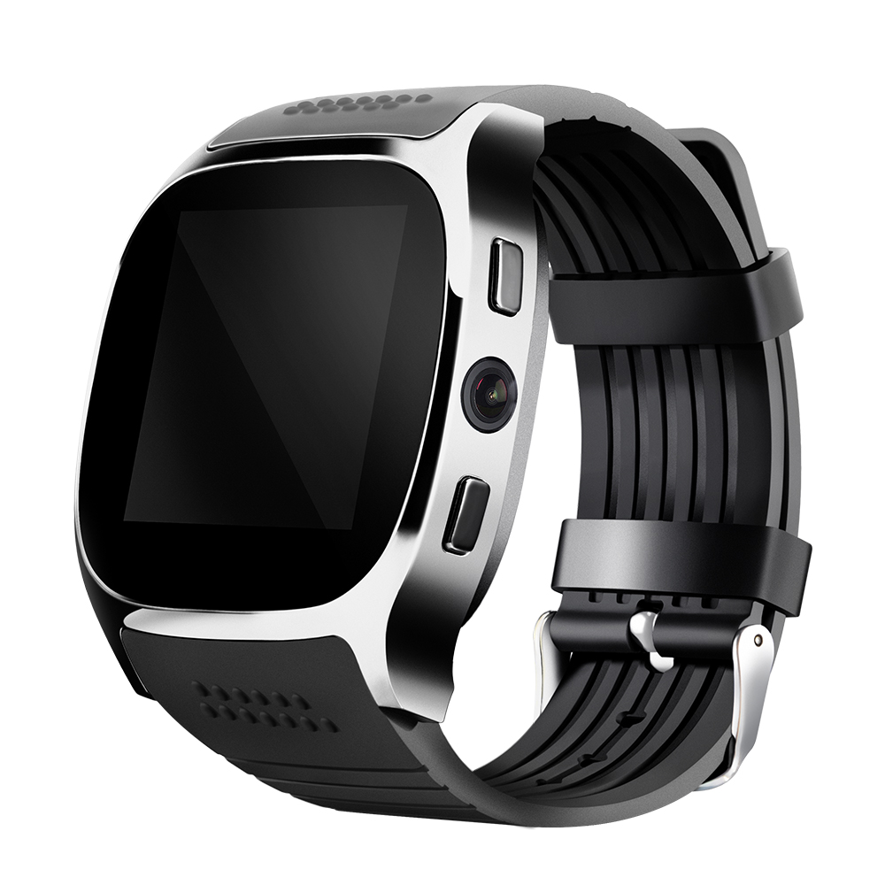 TUFEN T8 Bluetooth Smart Watch With Sim Card Slot 2.0 MP Camera Clock MTK6261D 380mah Battery For Android IOS VS M26 GT08 U8 2016 bluetooth smart watch gt08 for