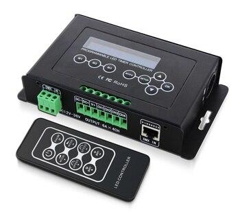 Nouveau BC-300 programmable LED de contrôle LED RVB RGBW Contrôleur De Lumière De Bande de CC 12-36 V Contrôleur de Lumière