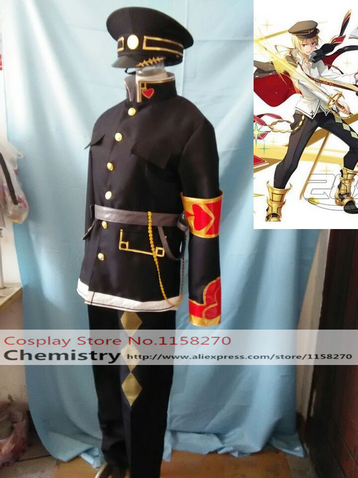 Kai-ri-Sei KairiSei Million Arthur Cosplay Costume