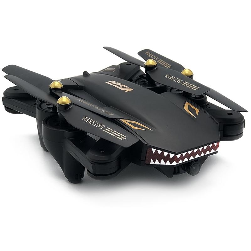 Visuo XS809S обновленную версию мини складной селфи Радиоуправляемый Дрон Wi-Fi FPV HD Камера 20 минут время полета RC Quadcopter в E58