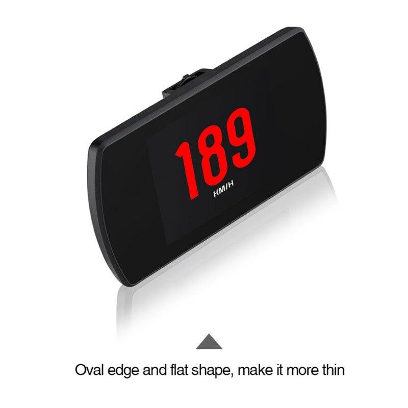 OBD Hud GPS affichage tête haute numérique voiture vitesse projecteur ordinateur de bord OBD2 compteur de vitesse Code d'erreur clair