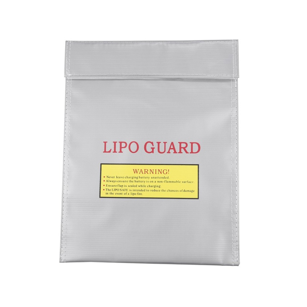 Portable Large Capacity Durable Fireproof RC Li-Polymer Battery Safety Storage Bag Case Safe Guard Charge Sack Drop Shipping