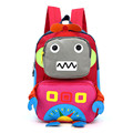 2017 3D Cartoon Robot children backpacks kids kindergarten backpack child school bags Satchel for baby boys and girls mochila