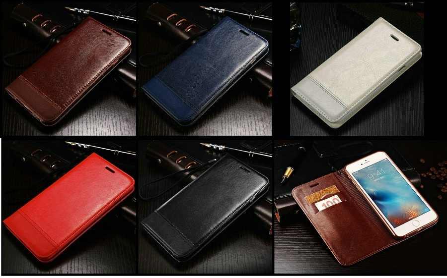 Кожаный магнитный чехол для iPhone X 8 6 6S 7 Plus, кошелек для карт, подставка, деловой смарт-держатель, откидная сумка, роскошный новый мягкий женский человек