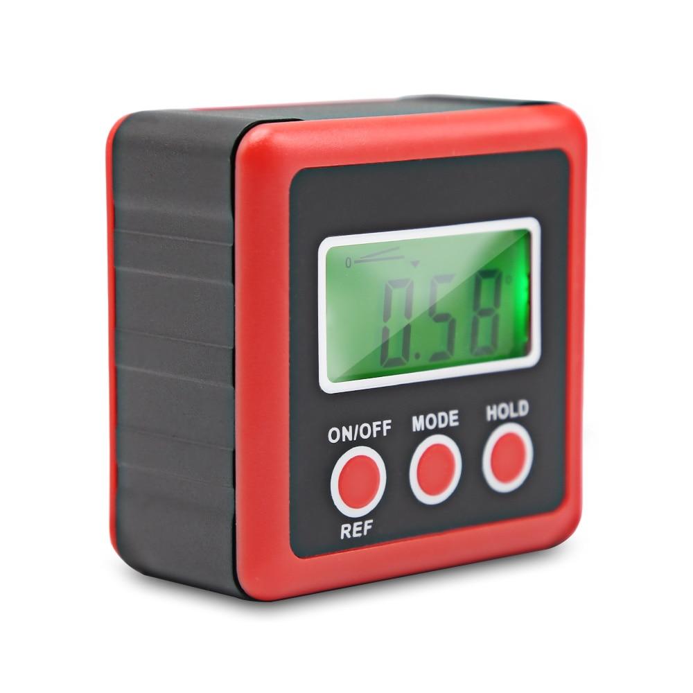 Digital Inclinometer Spirit Level Box Protractor Angle