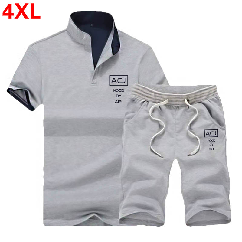 2PC Sets Men Summer Polo Shirt Mens Short Sleeve Polo Shorts Suit Male Solid Jersey Breathable Top Short Set Fitness Sportsuits in Men 39 s Sets from Men 39 s Clothing