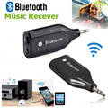 Universal 2pcs5mm Mini Bluetooth Wireless Home Car Kit AUX Handsfree Speaker Music Receiver Audio Adapter For ALL Mobile Phones