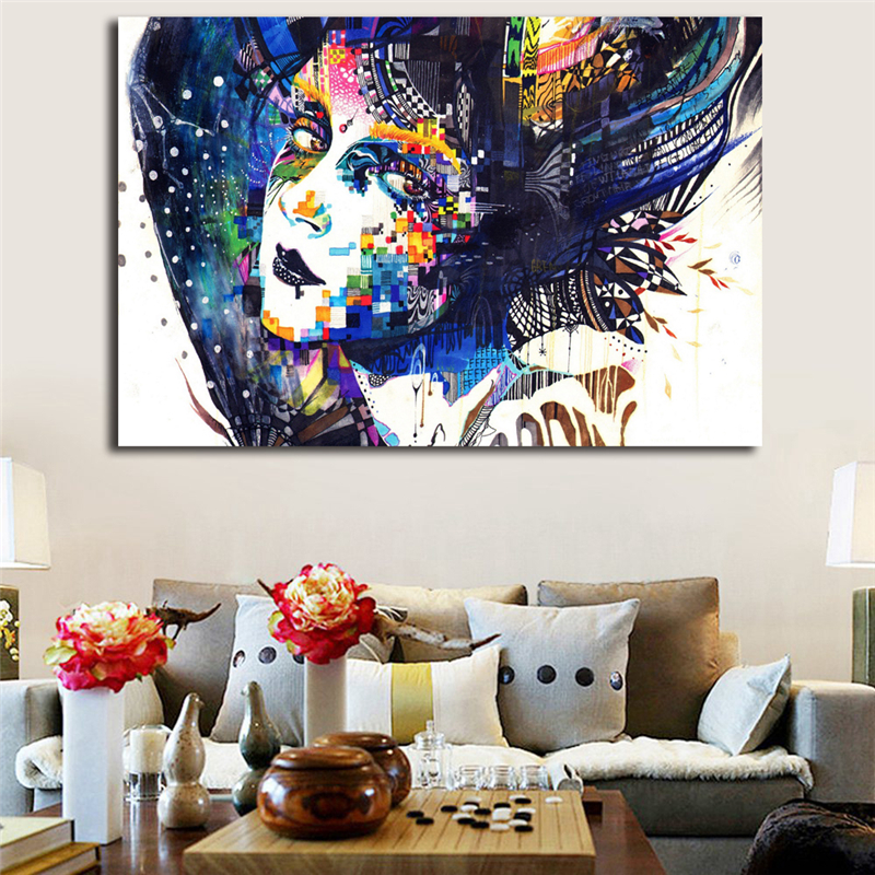 The Free Illustration By Minjae Lees Canvas Posters Prints Wall Artwork Portray Ornamental Image Bed room Trendy House Ornament Portray & Calligraphy, Low-cost Portray & Calligraphy, The Free Illustration...