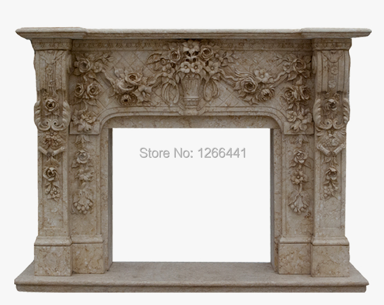 natural stone fireplace mantel frame with european style marble carvingchina mainland