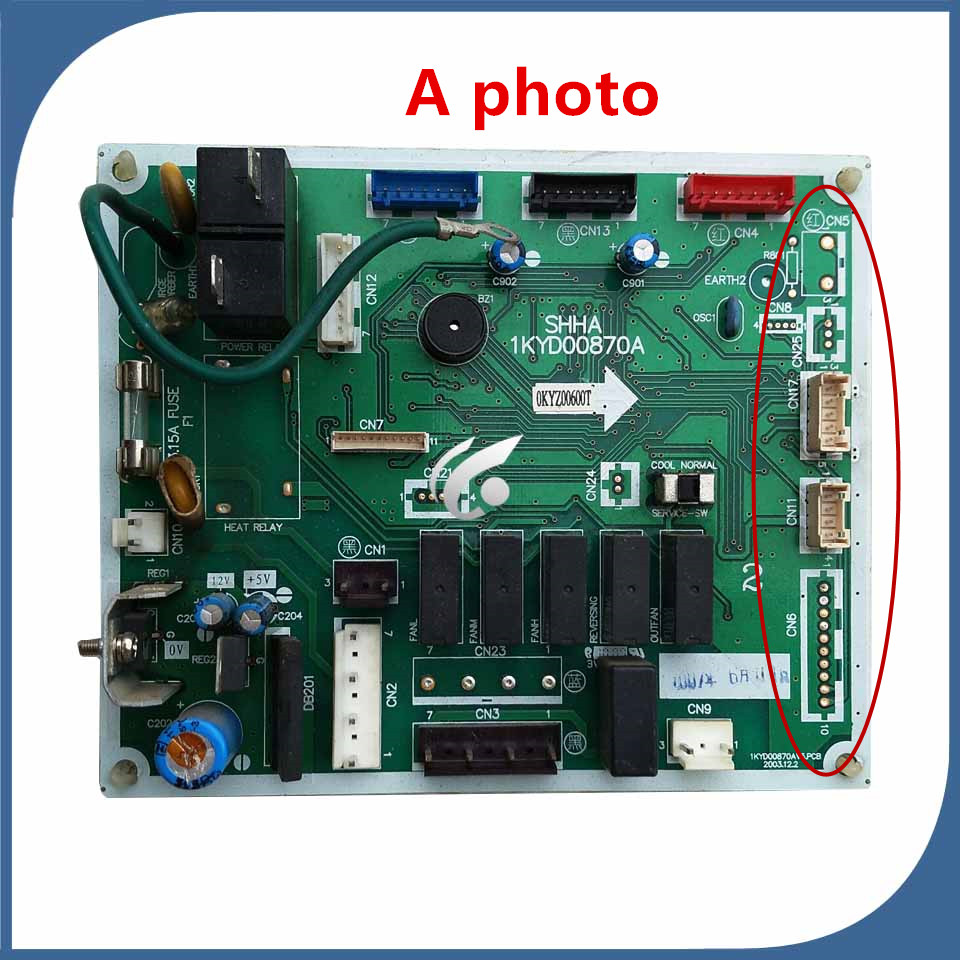 95% new good working for air conditioning computer board 1KYD00870A PC board control board on sale ревизор версия 2018 11 24t19 00