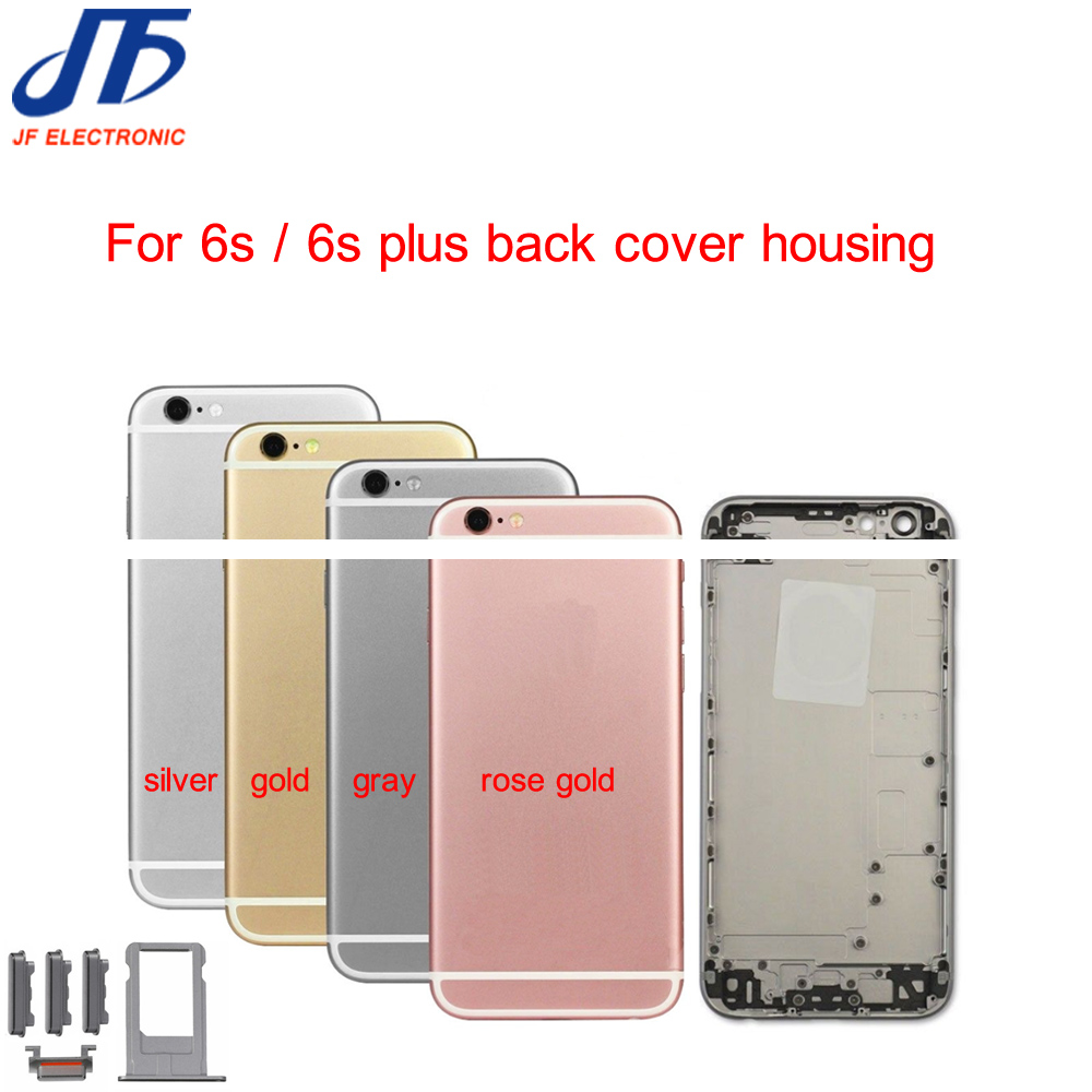 New Back Housing Replacement for iPhone 6 6g 6s Plus Battery Cover Housing Case Middle Chassis