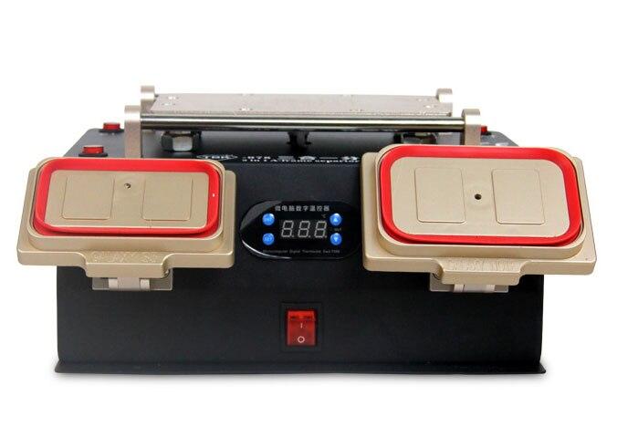 ТБК 978 3 в 1 для samsung ЖК-дисплей отреставрировать подогреватель станция/рамка Ближний сепаратор машина/вакуумный насос ЖК-дисплей сепаратор