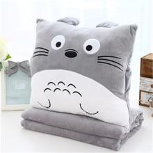 1 Set Lovely Rilakkuma Plush Cute Totoro Cat Bear Camping Doll Pillow Cushion Nap Car Sofa