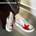 Crystal Cut Outs Summer Shoes Flats Thea Lether Shoes Women Causal Moccasins Shoes Woman Loafers Plus Size