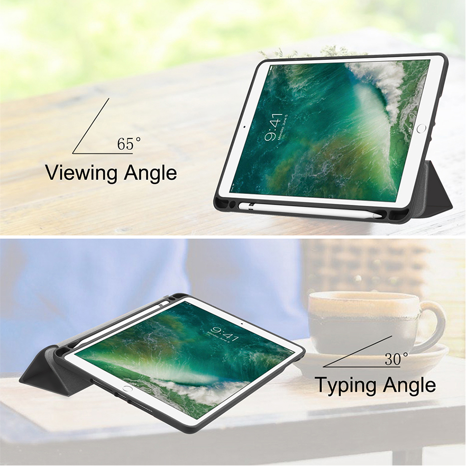 Tablets & E-books Case Fashion Deer Pattern Pu Leather Stand Case For Apple Ipad Pro 10.5 2017 A1701 A1709 Smart Soft Back Cover With Pencil Holder Vivid And Great In Style Tablet Accessories