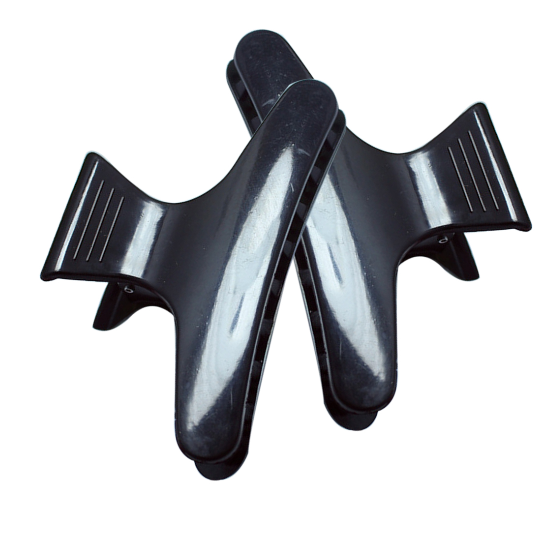 Styling Tools Salon Hairdressing Hairdresser Black Hair Clamps Clips Claw Section Butterfly