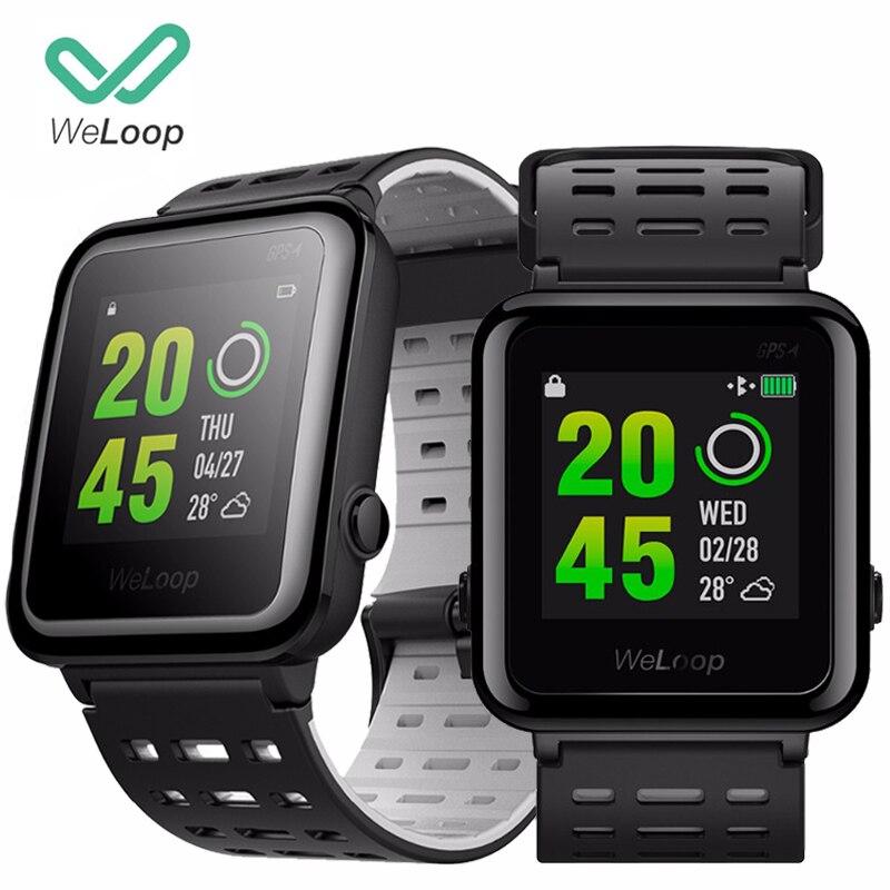 [Global English] WeLoop Hey 3S Smart Watch Multi Sports Watches Men Women GPS+ AGPS 50M Waterproof Bluetooth Heart Rate Monitor smart baby watch q60s детские часы с gps голубые