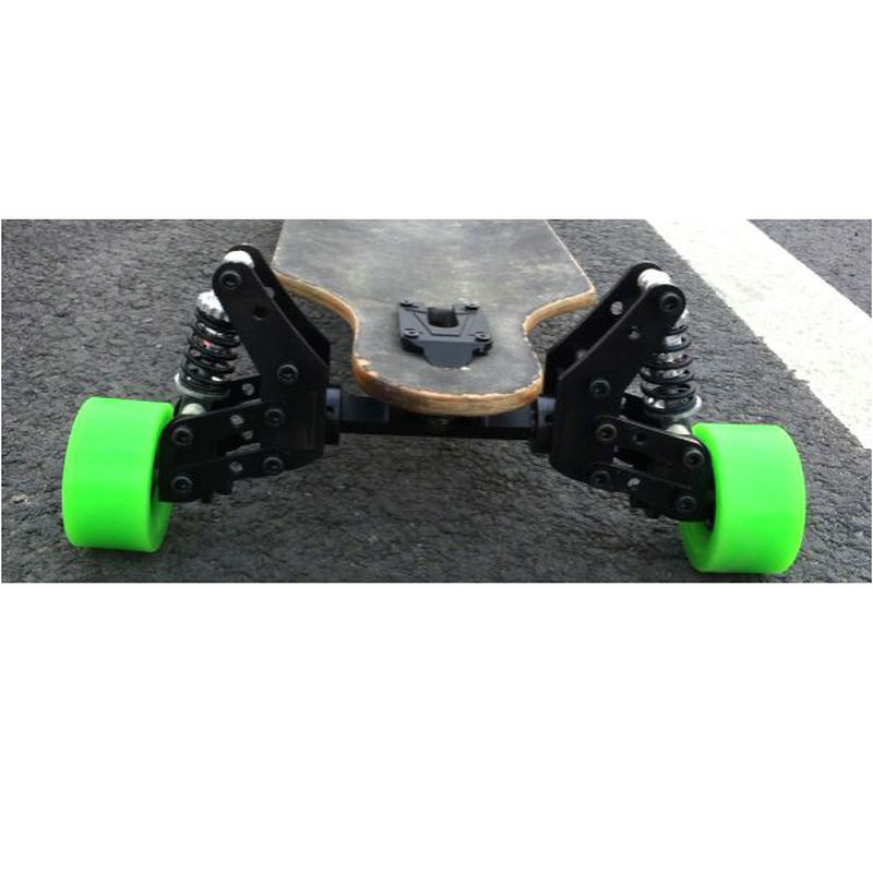 New Skateboard Trucks Suspension Bridge 8inch Long Board Trucks Suspension Spring Damping Trucks