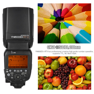Image 2 - YONGNUO YN600EX RT II TTL Master Flash Speedlite for Canon Camera 2.4G Wireless 1/8000s HSS GN60 Support Auto/ Manual Zooming