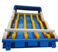 Giant Big Inflatable Slide For Kids Outdoor Toys