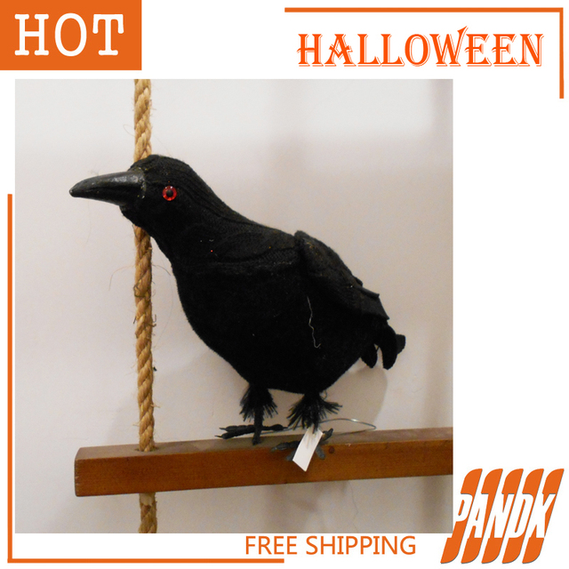 halloween crow halloween decorations haunted house halloween props crow table decorations free shipping