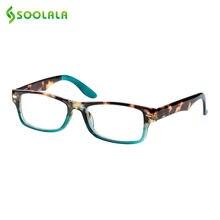 Мужские и женские очки для чтения soolala Черепаховые с полной