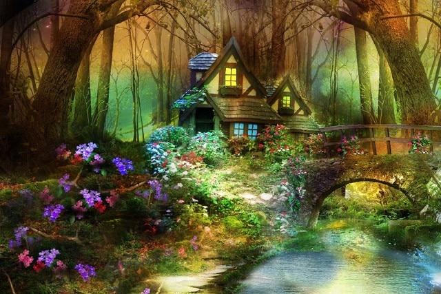 Aliexpress Com Acheter 3d Nature Phantasmagoria Fantasy