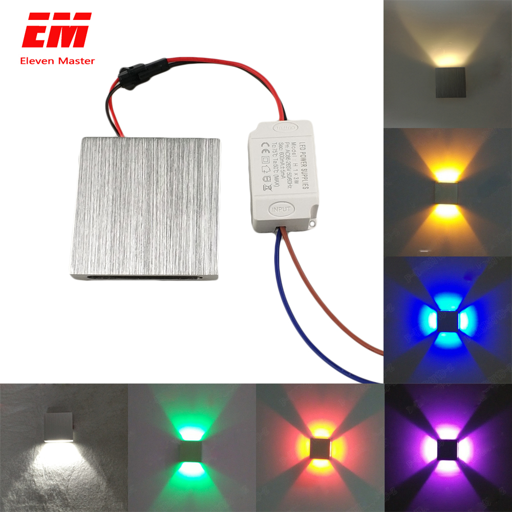 Led Wall Lamp Modern Sconce Stair Light Fixture Living Room Bedroom Bed Bedside Indoor Lighting Home Hallway Loft Silver ZBD0003Led Wall Lamp Modern Sconce Stair Light Fixture Living Room Bedroom Bed Bedside Indoor Lighting Home Hallway Loft Silver ZBD0003