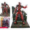 НОВЫЙ Горячий 18 см Super hero X-Men Deadpool фигурку игрушки коллекция мобильного игрушки куклы Рождественский подарок