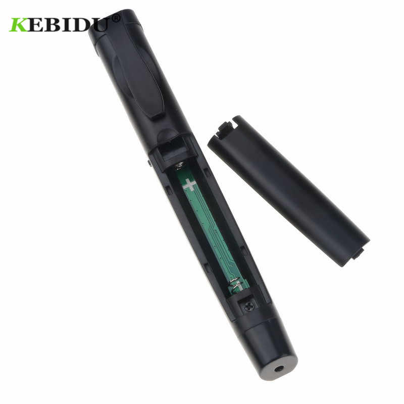 Kebidu 2.4GHz Không Dây Dẫn Chương Trình Có Hồng Ngoại Chỉ Điểm Laser Bút USB Điều Khiển Từ Xa RF Chuyển Trang PPT Công Tắc Trình Bày Từ Xa