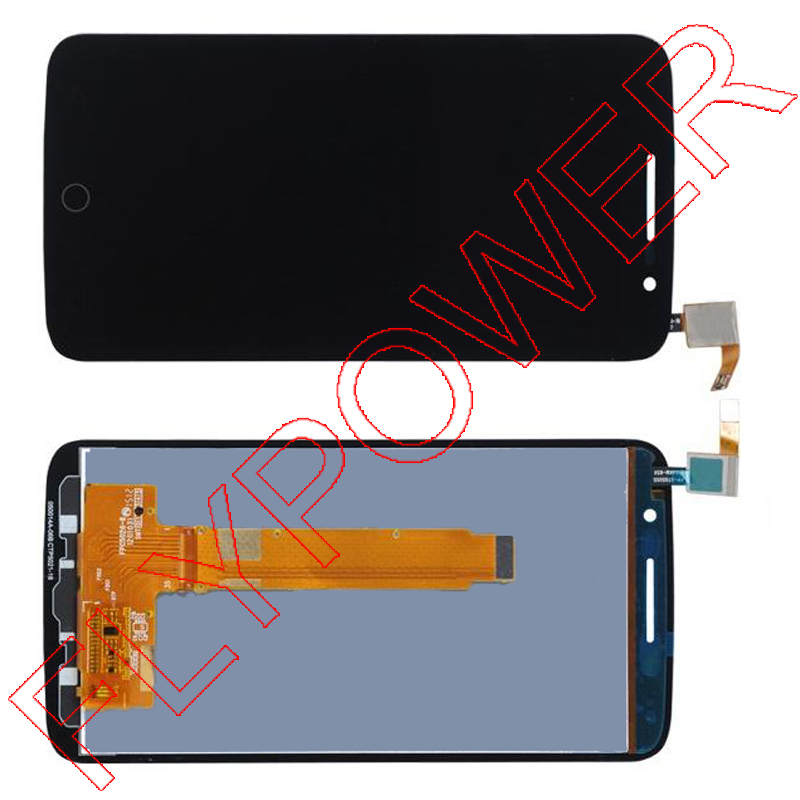 For Alcatel One Touch Pop 2 Premium 7044 OT7044 LCD Display with Touch Screen Digitizer Assembly Black Free shipping