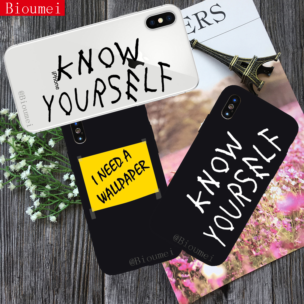Bioumei fashion Soft TPU Case for iphone XR XS Max hiperdia wallpaper know Back Cover Case for iphone X XS 5 6 6S 7 8 Plus 16 image