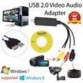 USB 2.0 Video Capture Card Konverter PC Adapter TV Audio DVD DVR VHS Für Fenster 2000 Für XP Für Vista Für win 7|DVR-Karten|   -