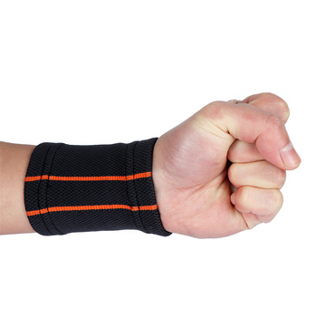 1 pc Breathable Knitted Wristbands Sport Sweatband Cotton Yarn Wrist Support Brace Wraps Guards For Gym Volleyball Basketball 9