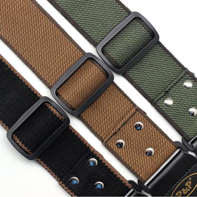 Adjustable Cotton Guitar Strap