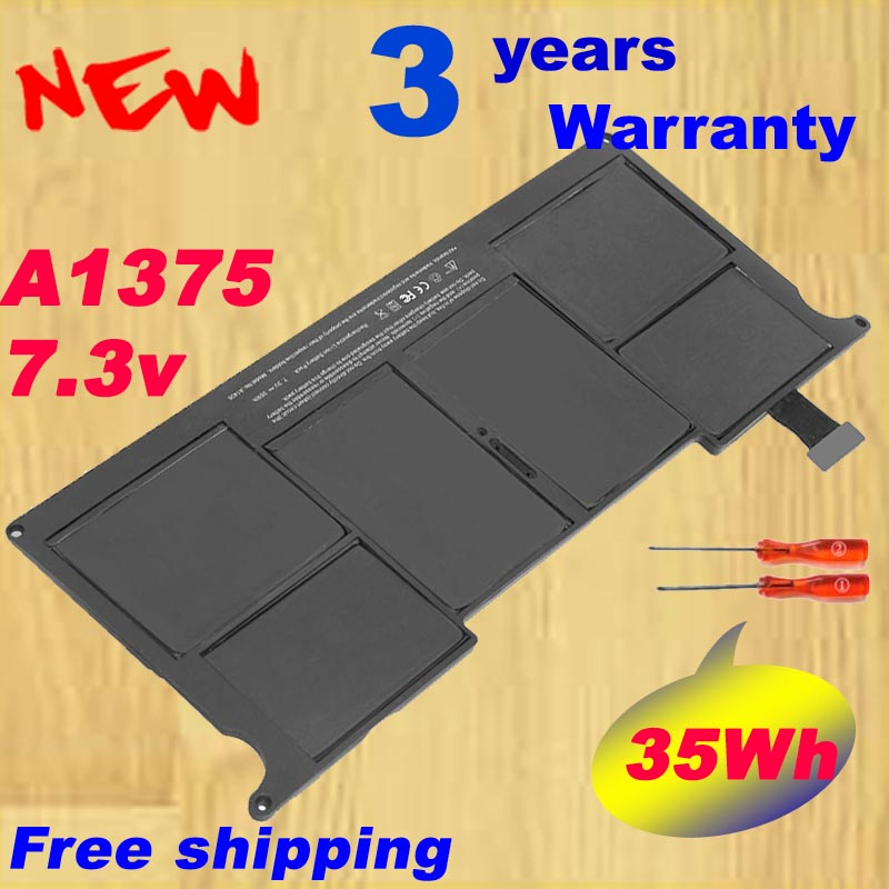 Laptop A1375 Battery for Apple A1370 for MacBook Air 11