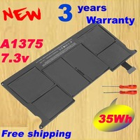 Laptop A1375 Battery for Apple A1370 for MacBook Air 11 (Late 2010) MC505 MC506 perfect testing