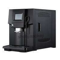 220 В 1250 Вт Touch Commerical полностью автоматическая кофемашина ЖК дисплей кофе эспрессо машины и кофемолка 19 бар капучино