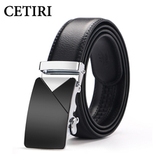 Designer Belts Men High Quality Genuine Leather Automatic Buckles Metal Belt For Jeans Mens 2017 Design 130 Cm Strap Belt Brown